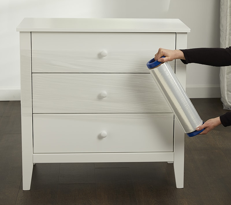 Stretch Wrap for Drawers