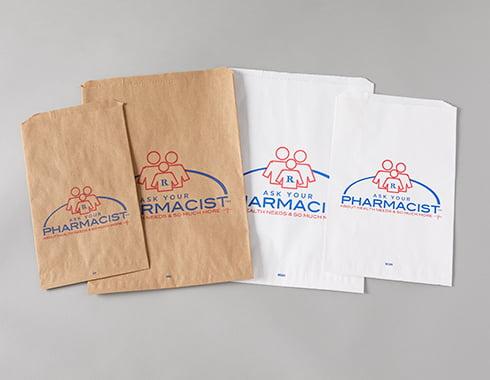flat rx bags