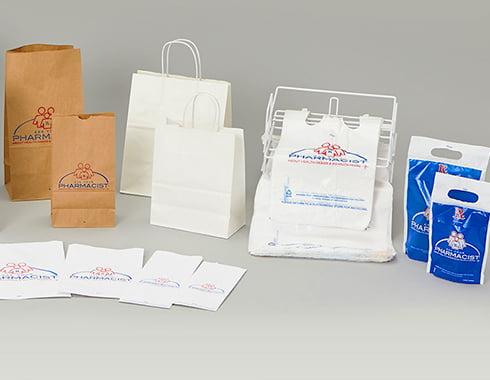 pharmacy bags variety