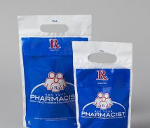 Plastic Rx Pharmacy Bags
