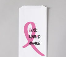 Breast Cancer Awareness Rx bag