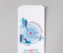 Diabetes Awareness Rx Bag (English)