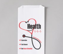 Heart Health Awareness Rx Bag