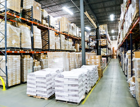wholesale moving supplies in warehouse